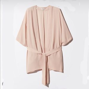 Wilfred ambronay robe dusty pink